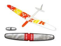 PNP Mini Dart 2 DLG GFK Orange Gelb 1000mm inkl....