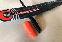 PNP Mini Dart 2 DLG strong Orange Gelb CFK 1000mm inkl. Schutztasche