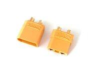 XT90 Buchse oder Stecker  mit Goldkontakten 4,5mm