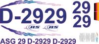 Dekorbogen ASG 29 Segler