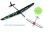 Kite PNP CFK DLG/F3K Blau/Grün zweiteilige Fläche 1500mm inkl. Schutztaschen