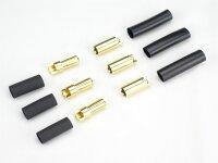 JETI Goldkontaktsteckerpaar 5,5mm (3 Paar)