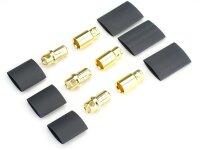 JETI Goldkontaktsteckerpaar 8mm (3 Paar)