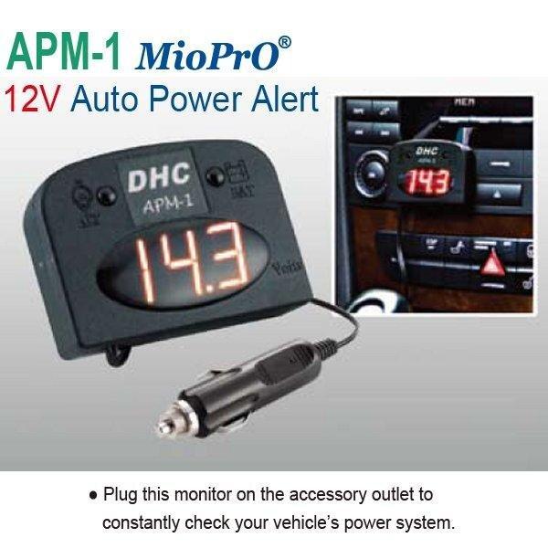 GWL/Power Battery voltage indicator 12V (3 digit display)