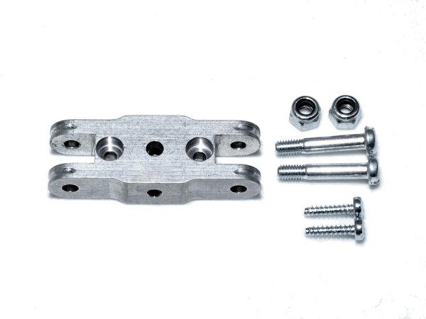 Mittelteil MADE 30 mm, für Blatthals 6mm, Bohrung 3,17mm zu HE Spinner