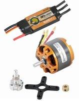 D-Power SET BL-Motor AL50-05 & Regler 80A