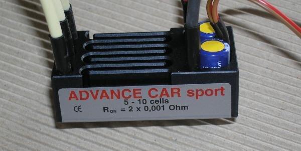 Jeti Car Sport Brushless Controller