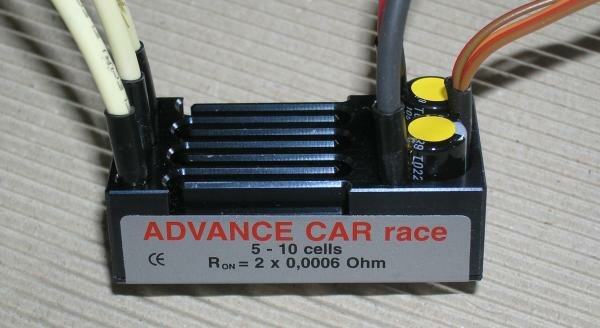Jeti Car Race Brushless Controller
