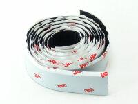 Haken- und Schlaufenband (Klebe-Klettband) 25mm breit je 1m