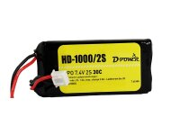 D-Power HD-1000 2S Lipo (7,4V) 30C - mit BEC Stecker