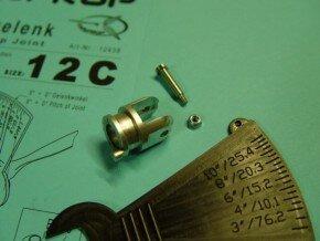Klappgelenk 12C D 43mm