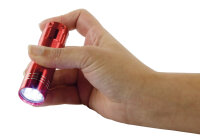 LED Aluminium Taschenlampe mit 5 ultrahellen LEDs