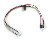 Sensorkabelverlängerung zu Graupner/Robbe/Dymond Lipos für 4 Zellen (5 Polig)