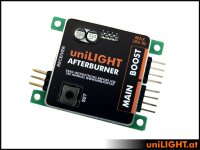 UniLight Modul Nachbrenner Nachbrenner-Simulation mit...