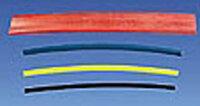 Schrumpfschlauch 6,4 mm rot, lose, 1 m, polyolefin,...