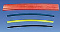 Schrumpfschlauch 6,4 mm schwarz, lose, 1 m, polyolefin,...