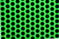 Oracover Fun flouresz. grün - schwarz