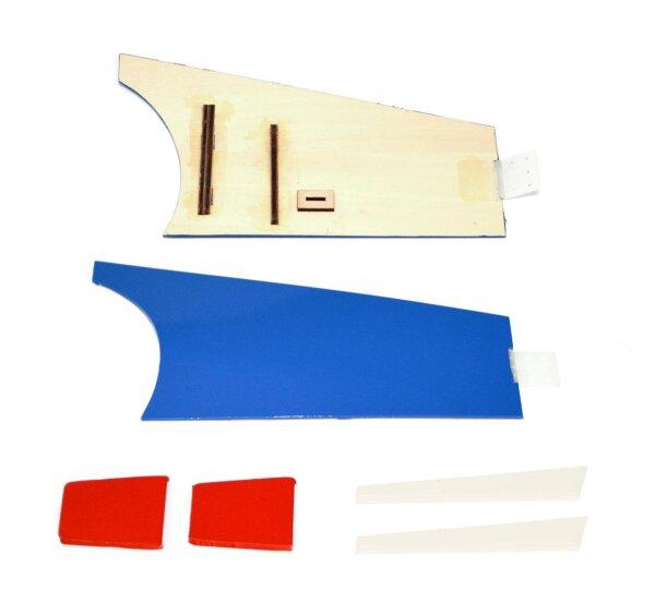 Fahrwerksabdeckung  zu GBmodels SF 260 weiß-rot-blau