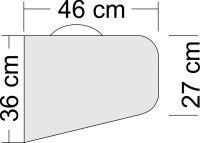 Tragflächentasche und Höhenrudertasche für Kunstflugmodelle bis 2m Spannweite