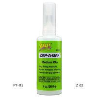 ZAP-A-GAP PT-01 Sekundenkleber, mittelflüssig, 56,6g
