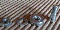 Spannkonus Alu, selbstzentrierend 6mm, Schaft 8mm