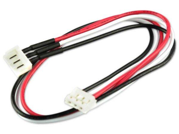 Sensorkabelverlängerung zu Graupner/Robbe/Dymond Lipos für 2 Zellen (3 Polig)