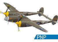 FlightLineRC P-38L Lightning 1600mm grün PnP