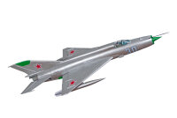 """Freewing MiG-21 """"silver"""" 80mm KIT"""