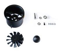 70mm 12-Blatt Kunststoff Impeller, 4mm Mitnehmer,...